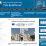 Vecchio sito web scuola Vaccina